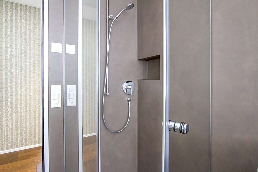 Dusch verglasungen glas schiebet ren glas trennw nde for Gestaltung eines badezimmers